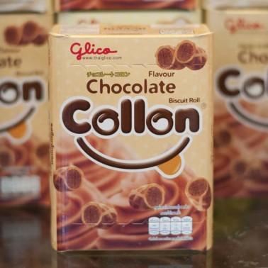 Collon Chocolate Flavor Biscuit Roll (โคลลอน รสช็อกโกแลต)