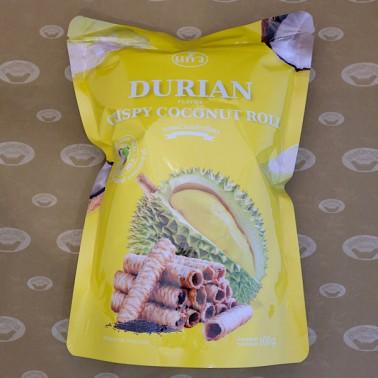 Keaw Crispy Rolls Durian Flavor (ทองม้วนแก้วรสทุเรียน)