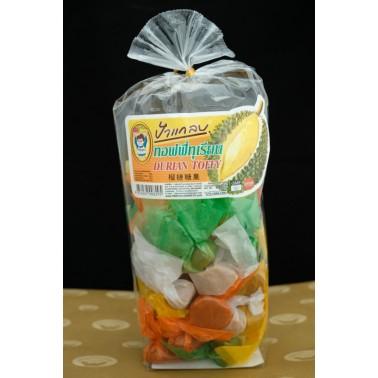 Durian Toffee (ทอฟฟี่กะทิทุเรียน)