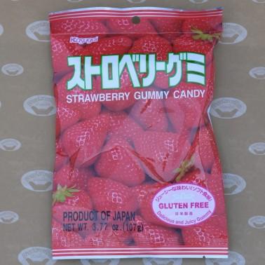 Strawberry Gummy Candy (ลูกอมกัมมี่รสสตอเบอรี่)
