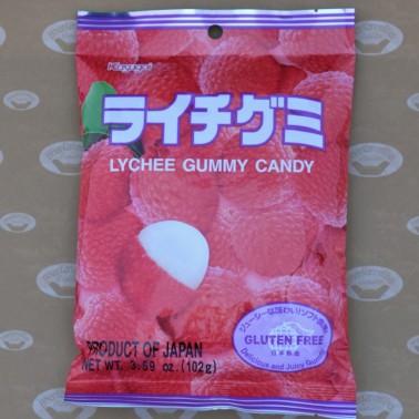 Lychee Gummy Candy (ลูกอมกัมมี่รสลิ้นจี่)