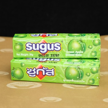 Sugus Green Apple Flavour (ซูกัส รสแอปเปิ้ล)