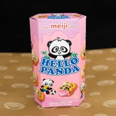 Hello Panda Strawberry (คุกกี้แพนด้าสตอเบอรี่)