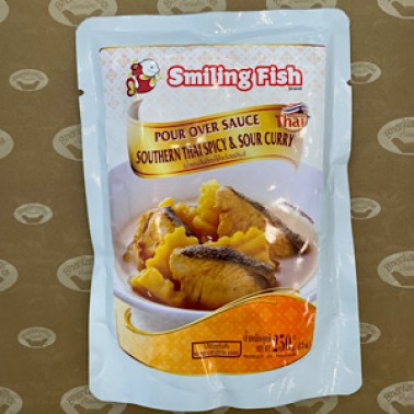 SOUTHERN THAI SPICY & SOUR CURRY(แกงส้มปักษ์ใต้) SMILING FISH