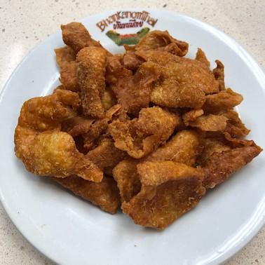 Fried Chicken Skin (หนังไก่ทอด)