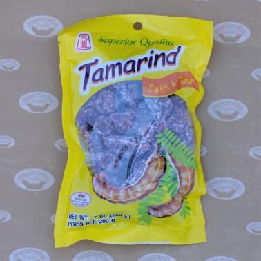 JHL Preserved Tamarind - Sweet&Sour (มะขามคลุก - ไม่เผ็ด)