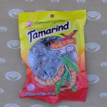 JHL Preserved Tamarind Sweet&Sour with Chili  (มะขามคลุกพริกเกลือ)