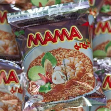 Mama TomYum Shrimp Flavour (มาม่า รสต้มยำกุ้ง)
