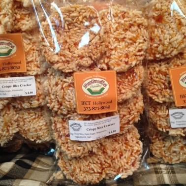 Crispy Rice Cracker (นางเล็ด)