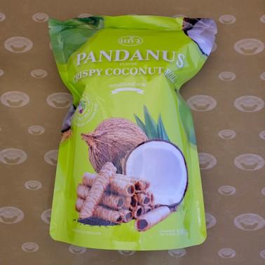 Keaw Crispy Rolls Pandan Flavor (ทองม้วนแก้วรสใบเตย)