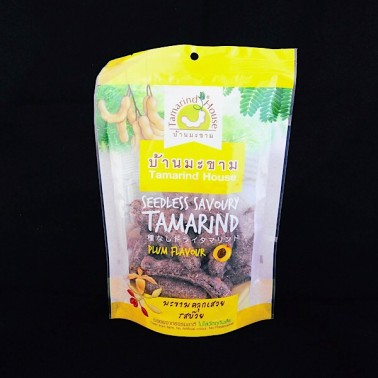 TH Plum Flavored Seedless Tamarind 90g (มะขามคลุกเสวย)