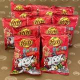 Changnoi BBQ 12 bags  (ยำยำช้างน้อย รสบาร์บีคิว)