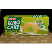 Euro Pandan Cake (ยูโร่เค้ก รสใบเตย)
