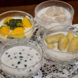 Taro in Coconut Milk (เผือกแกงบวช)