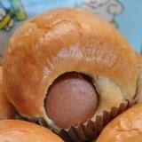 Chicken Sausage Bun (ขนมปังใส้กรอกไก่)